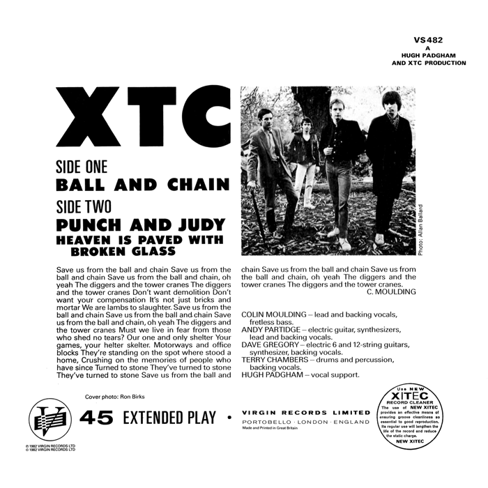 Chalkhills Reel By Real Xtc Ball And Chain