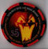 limited edition holiday casino chip from The Hard Rock Casino